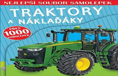 Náhled Traktory a náklaďáky - Nejlepší soubor samolepek