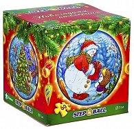 Sněhulák - Plastic Puzzle Koule 60 Vánoční kolekce