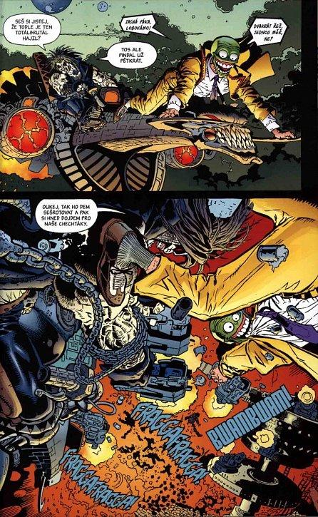Náhled Lobo versus Maska a další řežba