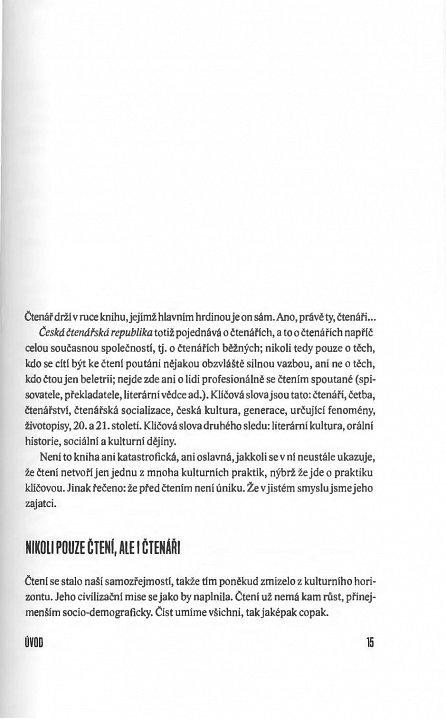 Náhled Česká čtenářská republika - generace * fenomény * životopisy