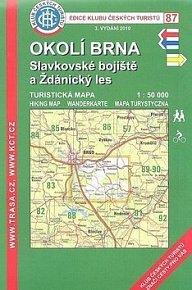 KČT 87 Okolí Brna Slavkovské bojiště 3.vyd.