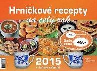 Hrníčkové recepty na celý rok 2015 - stolní kalendář