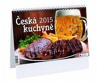 Česká kuchyně - stolní kalendář 2015