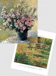 Monet 2009 - nástěnný kalendář