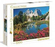 Puzzle 1000 dílků Jezero s chatkou