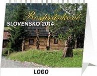 Rozprávkové Slovensko Praktik - stolní kalendář 2014