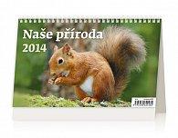 Kalendář 2014 - Naše příroda - stolní