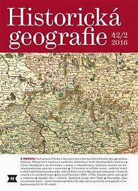 Historická geografie 42/1 2016