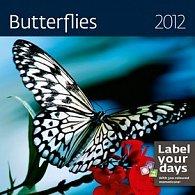 Kalendář nástěnný 2012 - Butterflies