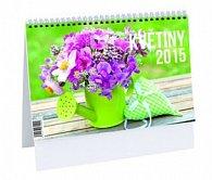 Květiny - stolní kalendář 2015