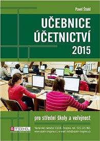 Učebnice Účetnictví II. díl 2015
