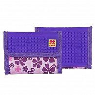 Pixie Peněženka PXA-10 růžová kytka