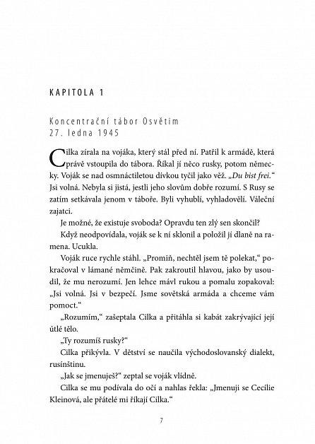 Náhled Tatér z Osvětimi: Cilčina cesta