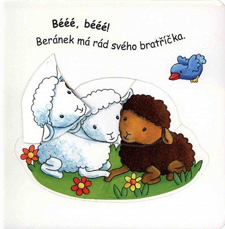 Náhled Na statku - Kniha s puzzle