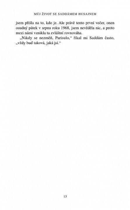 Náhled Můj život se Saddámem Husajnem - Ve stínu obávaného diktátora