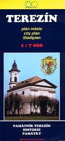 Terezín Plán města 1:7000