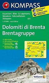 Dolomiti di Brenta 073 / 1:25T NKOM