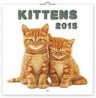 Kalendář 2015 - Koťata - nástěnný