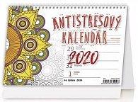 Kalendář stolní 2020 - Antistresový pracovní