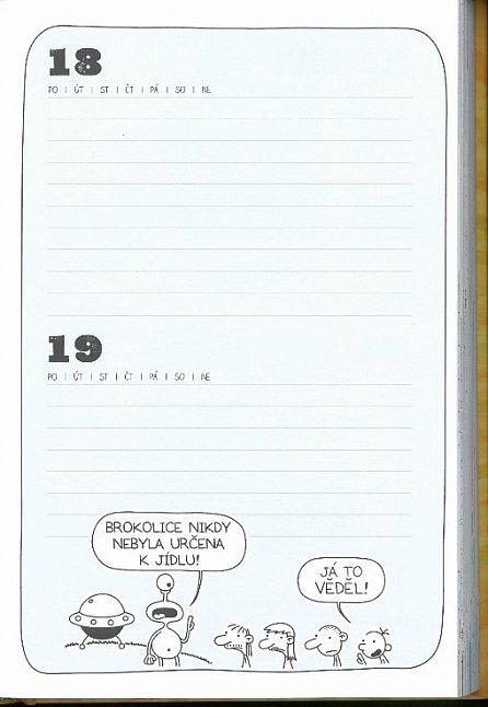 Náhled Školní deník malého poseroutky