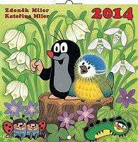 Kalendář 2014 - Krteček - nástěnný poznámkový (ČES, SLO, MAĎ, POL, RUS, ANG, NĚM, ŠPA)