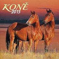 Koně - nástěnný kalendář 2015