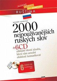 2000 nejpoužívanějších ruských slov + 6 CD