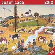 Kalendář nástěnný 2012 - Josef Lada U ohníčku, 30 x 60 cm