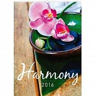 Kalendář nástěnný 2016 - Harmonie,  33 x 46 cm