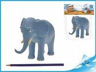 Nejmenší slon na světě - postavička táta slon 14cm v sáčku