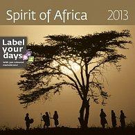 Kalendář nástěnný 2013 - Spirit of Africa