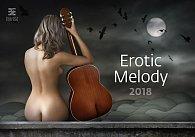 Kalendář nástěnný 2018 - Erotic Melody/Exclusive