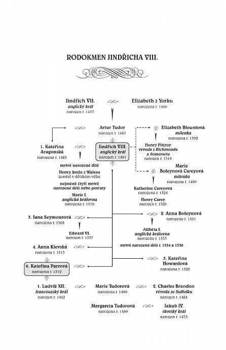 Náhled Strážkyně tajemství - Román o Kateřině Parrové. Milostné vztahy Tudorovců