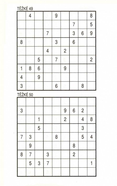 Náhled Sudoku speciál 14 pro nároční