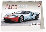 Kalendář stolní 2020 - Auta