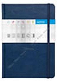 Notes Saturn modrý čtverečkovaný A5