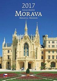 Kalendář nástěnný 2017 - Morava