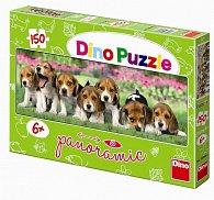 Psi - puzzle Panoramic 150 dílků