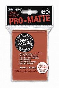 UltraPRO: 50 DP PRO Matte obaly - Peach