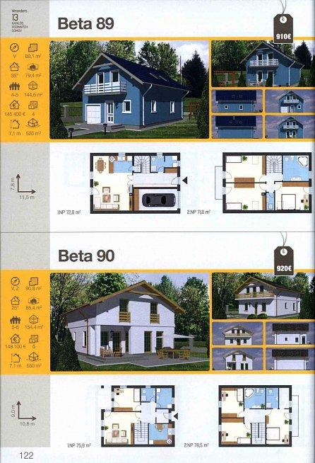 Náhled Katalóg 2017 * rodinné a bytové domy * chaty a chalupy * nízkoenergetické domy