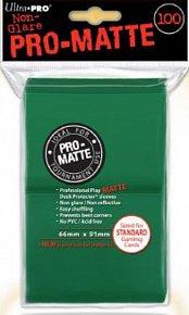 UltraPro: Pro-Matte DP Sleeves - zelená