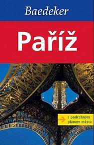 Paříž s podrobným plánem města - Baedeker