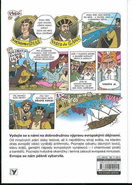 Náhled Malované dějiny Evropy