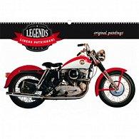 Kalendář nástěnný 2016 - Legends - Libero Patrignani,  48 x 33 cm