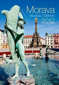 Kalendář nástěnný 2012 - Morava/Moravia/Mähren