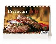 Kalendář stolní 2016 - Grilování