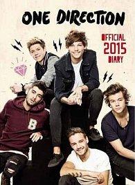Diář 2015 - One Direction A6 (156x212)
