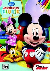 Mickeyho klubík 2 - Omalovánky A5