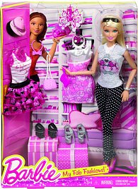 Barbie panenka a obleček