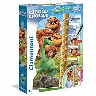 Puzzle Double FUN Hodný dinosaur 30 dílků